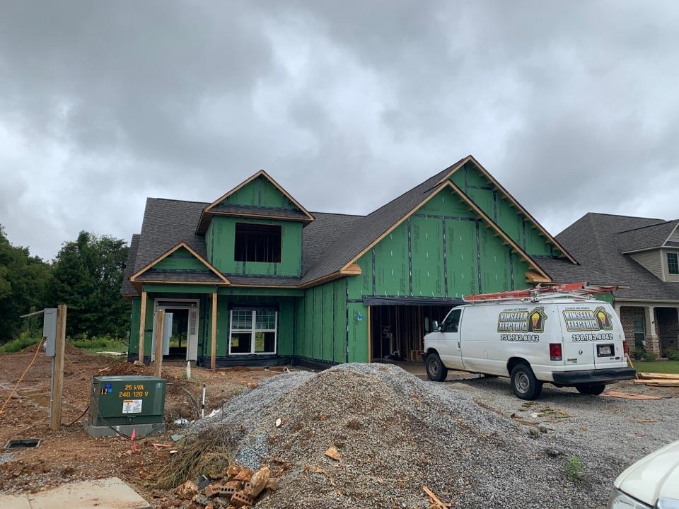 Madison, AL - New Construction Roofing Project in Madison, AL! CertainTeed Landmark WeatherWood