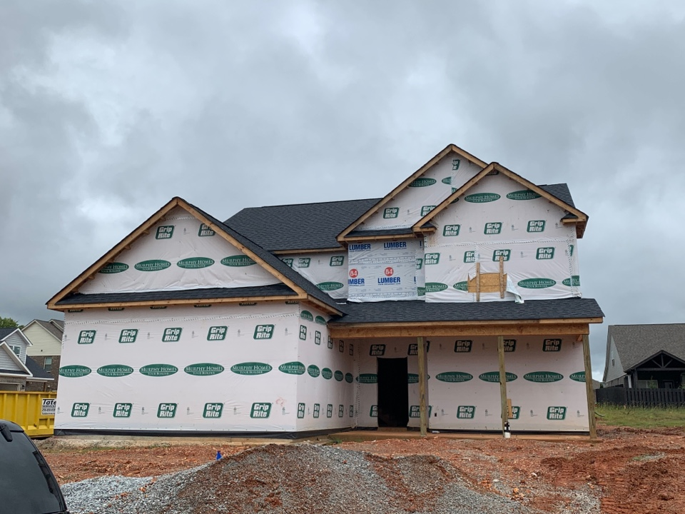 Madison, AL - New Construction Roofing Project in Madison, AL! CertainTeed Landmark Morie Black