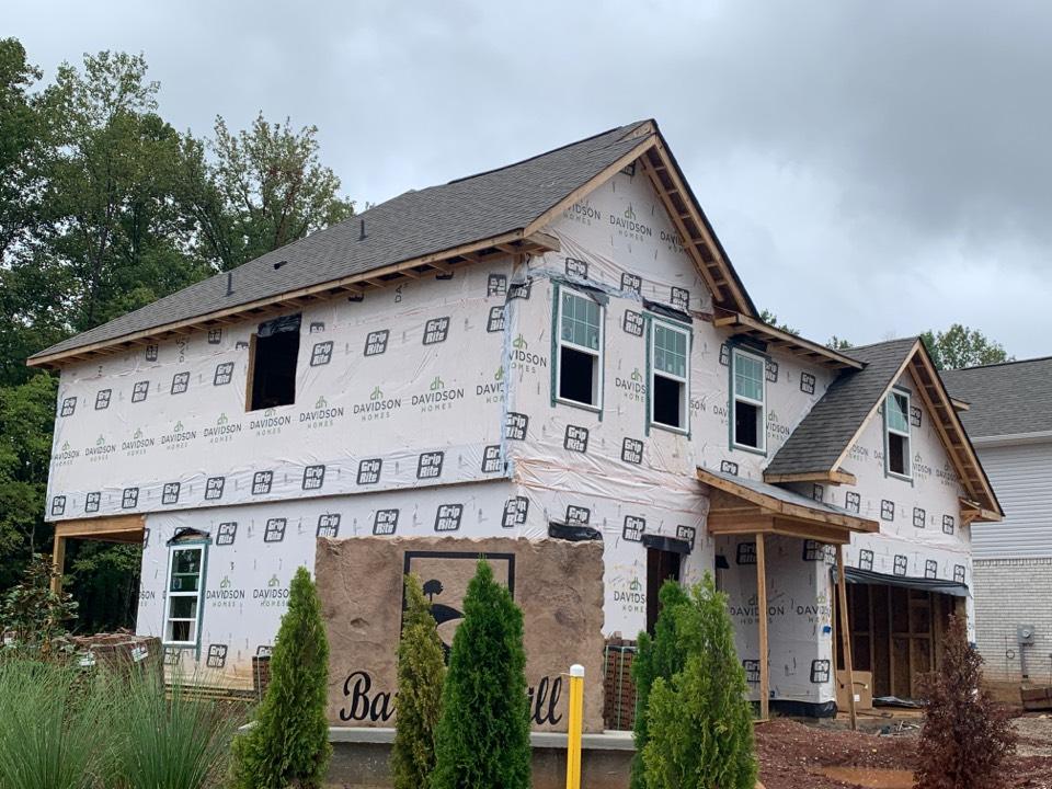 Madison, AL - New Construction Roofing Project in Madison, AL! IKO Cambridge WeatherWood