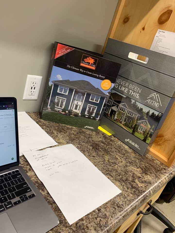 Madison, AL - Always fun to be back at the office during the middle of the week in Madison Alabama to brush up on our product knowledge of roofing and home improvement