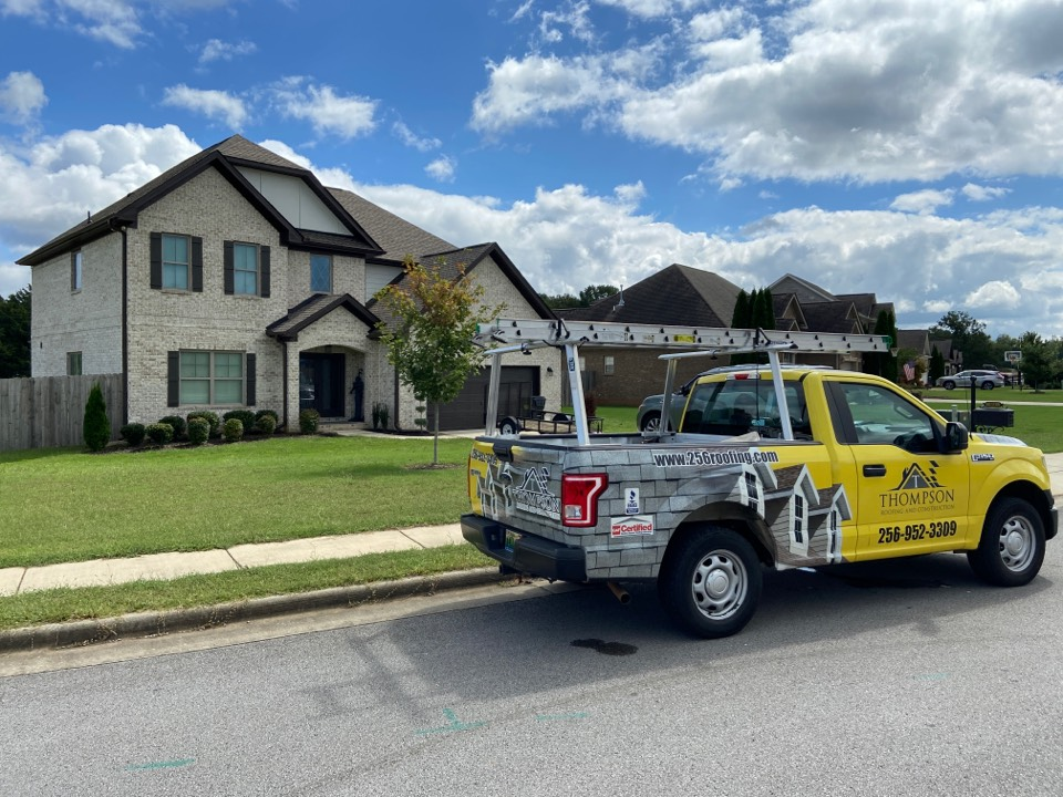 Decatur, AL - Improperly installed gutters can cause issues that could lead to water inside of your home. Call Thompson Roofing and Construction in Priceville AL to help you with your gutter and roofing issues.