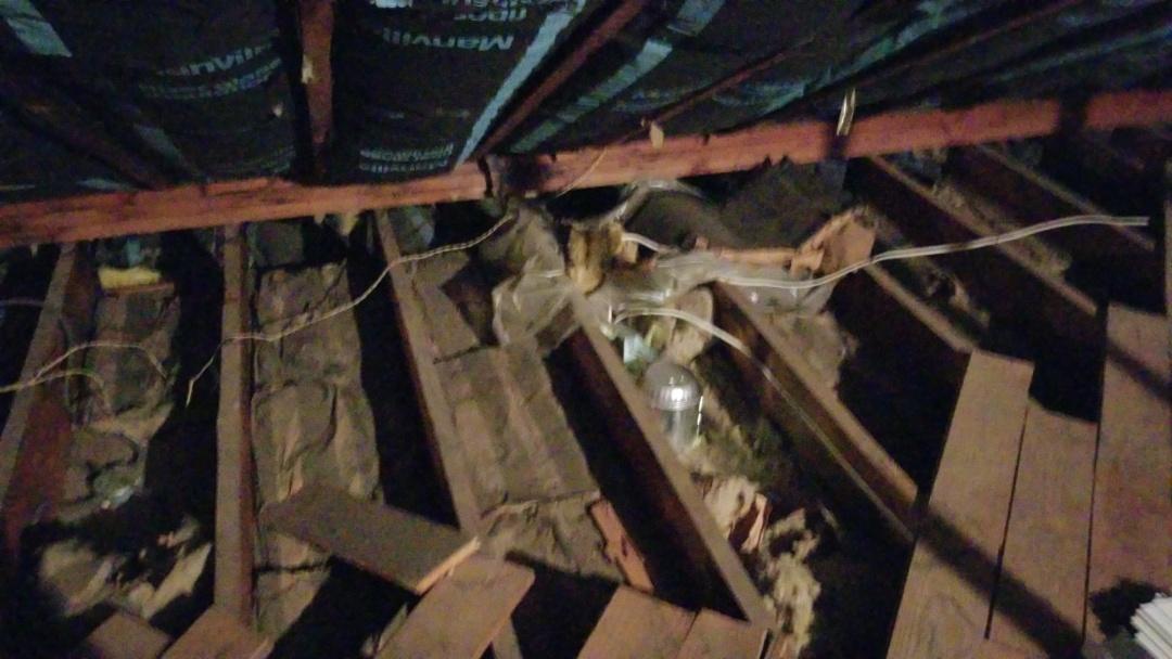South Orange, NJ - Attic insulation inspection in South Orange New Jersey