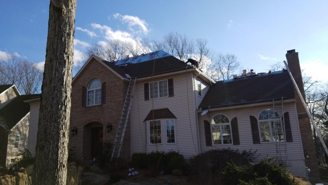 Rockaway, NJ - GAF Timberline roof installation in Rockaway, New Jersey