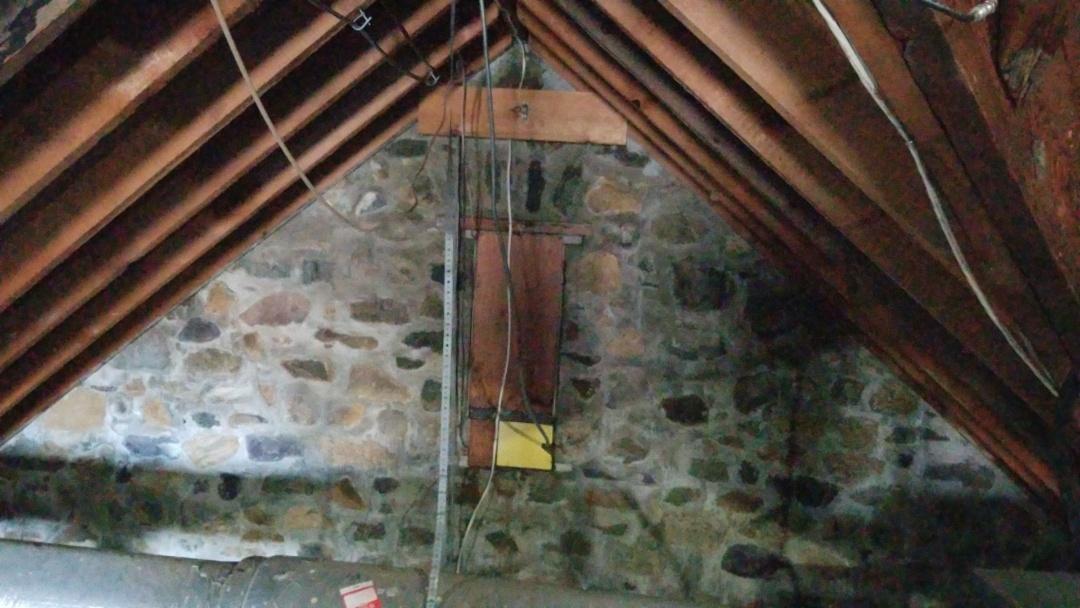 Rockaway, NJ - 1909 attic in need of insulation in Rockaway, New Jersey