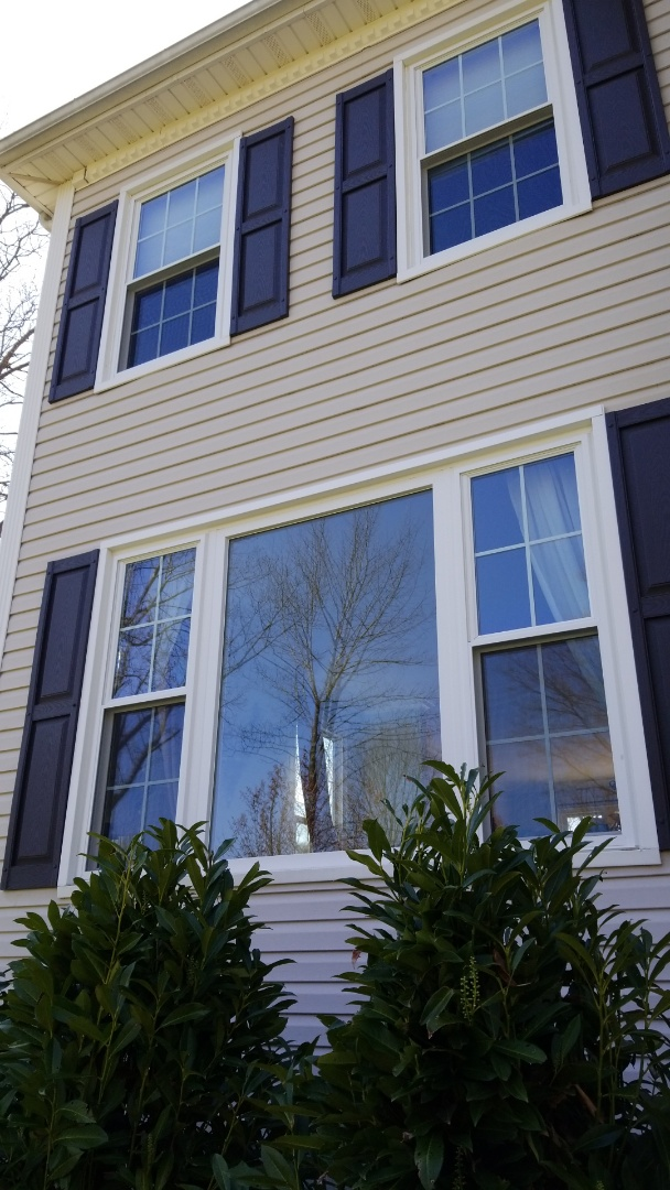 Sparta, NJ - Harvey Tribute vinyl double hung replacement windows with full grids in Sparta, New Jersey