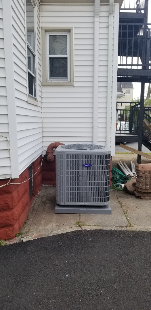 Montclair, NJ - Central air installation Carrier