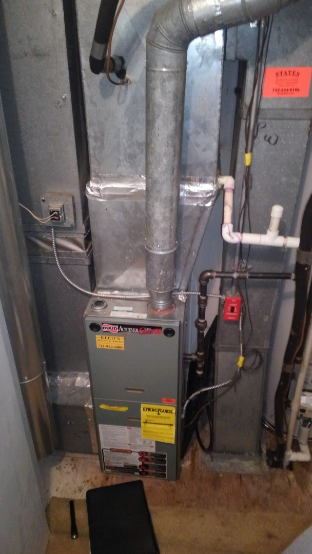 Tinton Falls, NJ - Furnace and AC replacement of ruud system