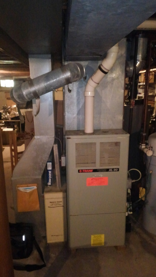 Branchburg, NJ - Trane AC and heater replacement