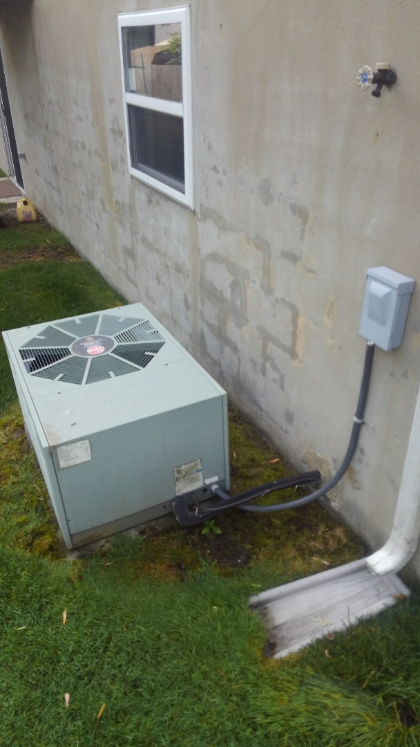 Monroe Township, NJ - Rheem furnace and AC replacement