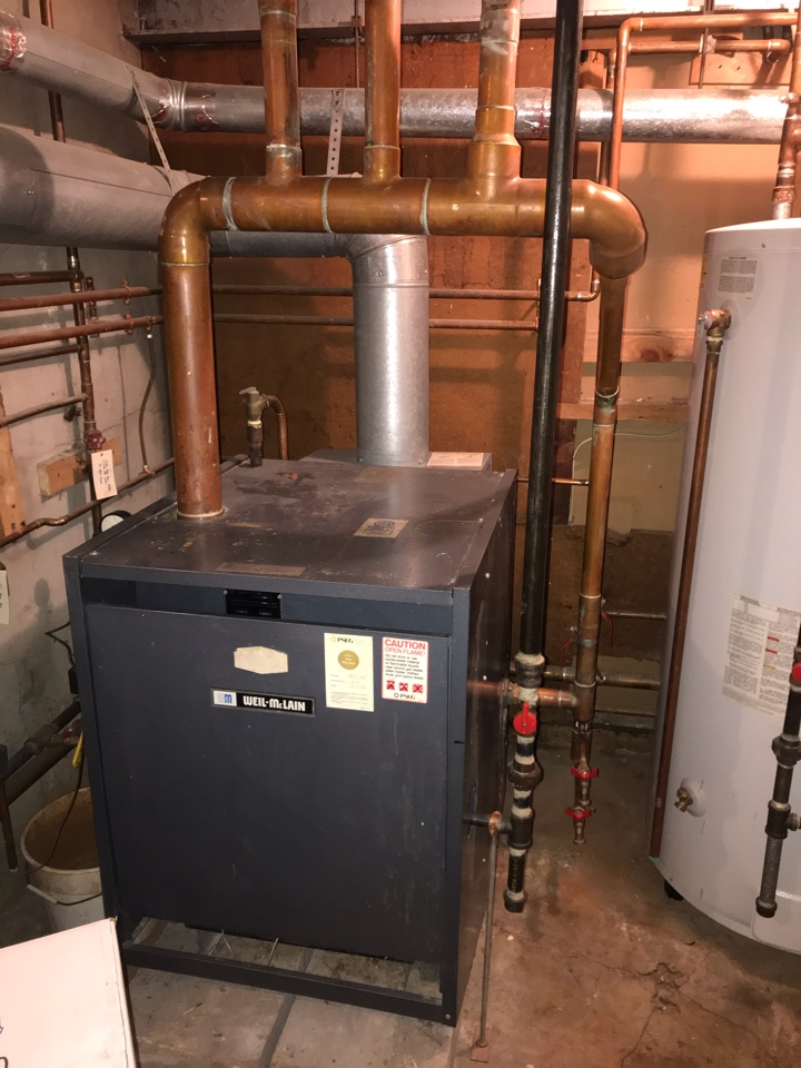 Summit, NJ - Steam boiler replacement in Summit