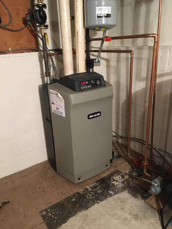 Long Hill, NJ - BOILER MAINTENANCE WEIL MC LAIN BOILER