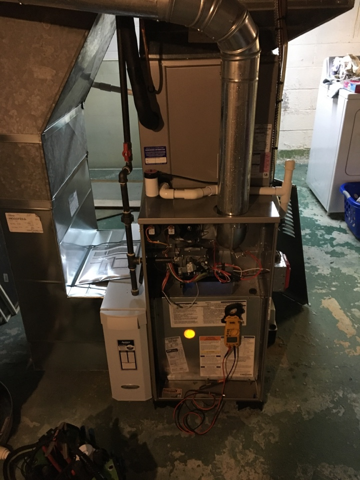 Fanwood, NJ - 2 ZONE FURNACE MAINTENANCE