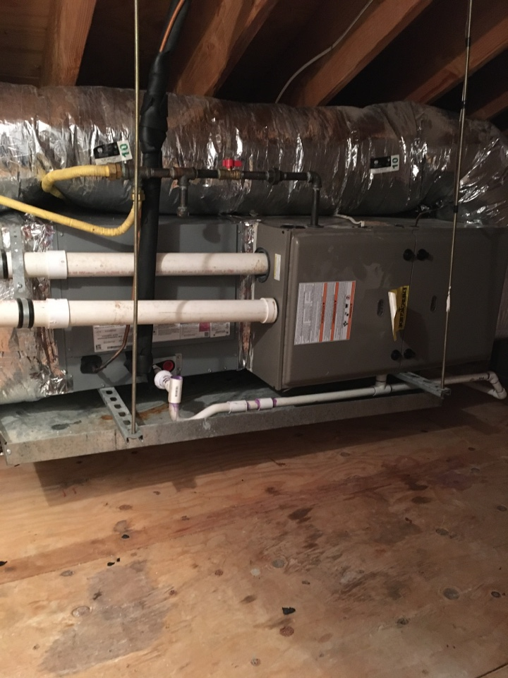 Westfield, NJ - NO HEAT CALL WATER LEAKING BACK INTO THE INDUCER MOTOR
