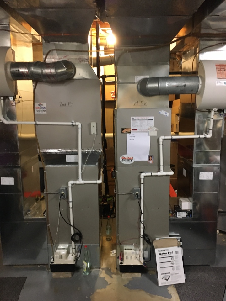 Warren, NJ - 2 ZONE FURNACE MAINTENANCE