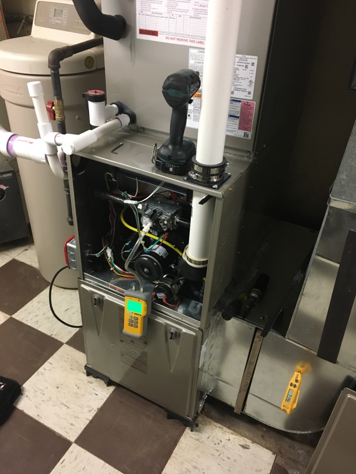 North Plainfield, NJ - NO HEAT CALL ON CARRIER FURNACE