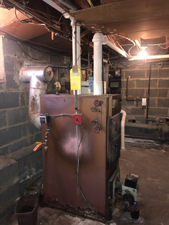 Westfield, NJ - Steam boiler replacement, oil to gas conversion in Westfield.