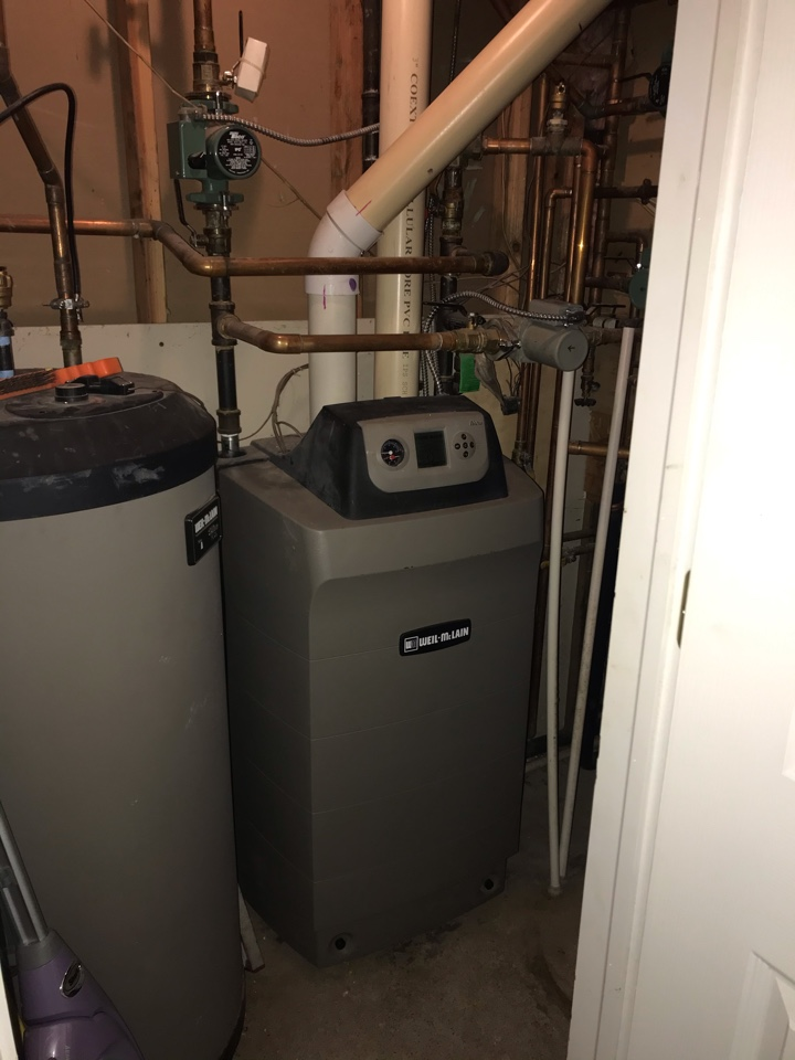 Sayreville, NJ - Replacement of Weil McLain boiler in Parlin.