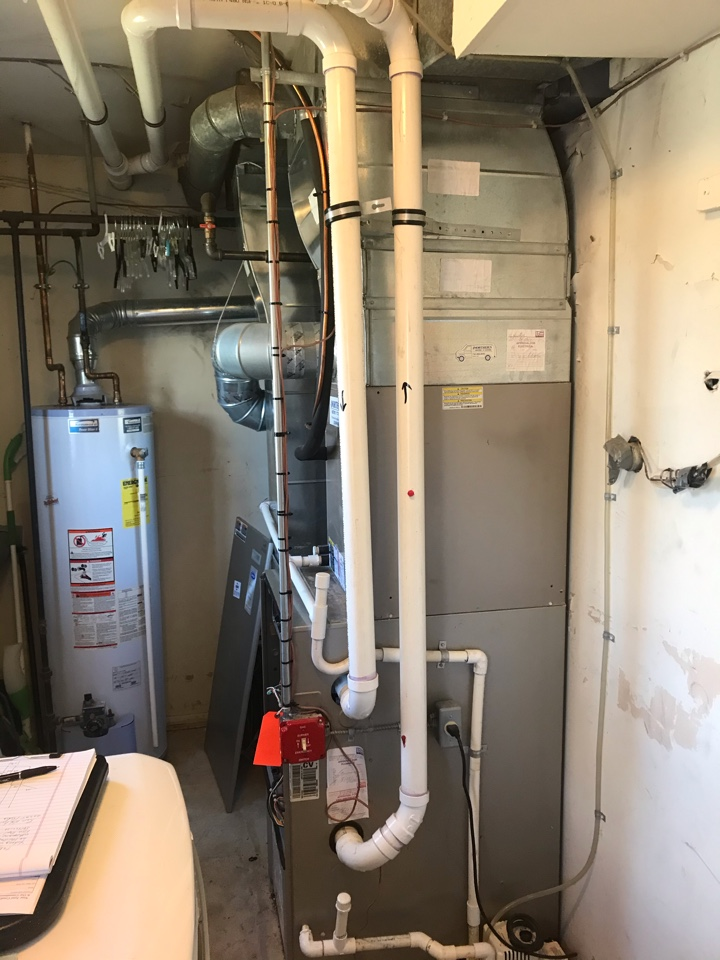 Replacement of Carrier gas furnace in Whippany.
