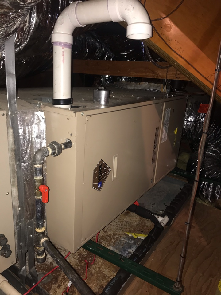 Mountainside, NJ - Replacement of York gas furnace in Mountainside.