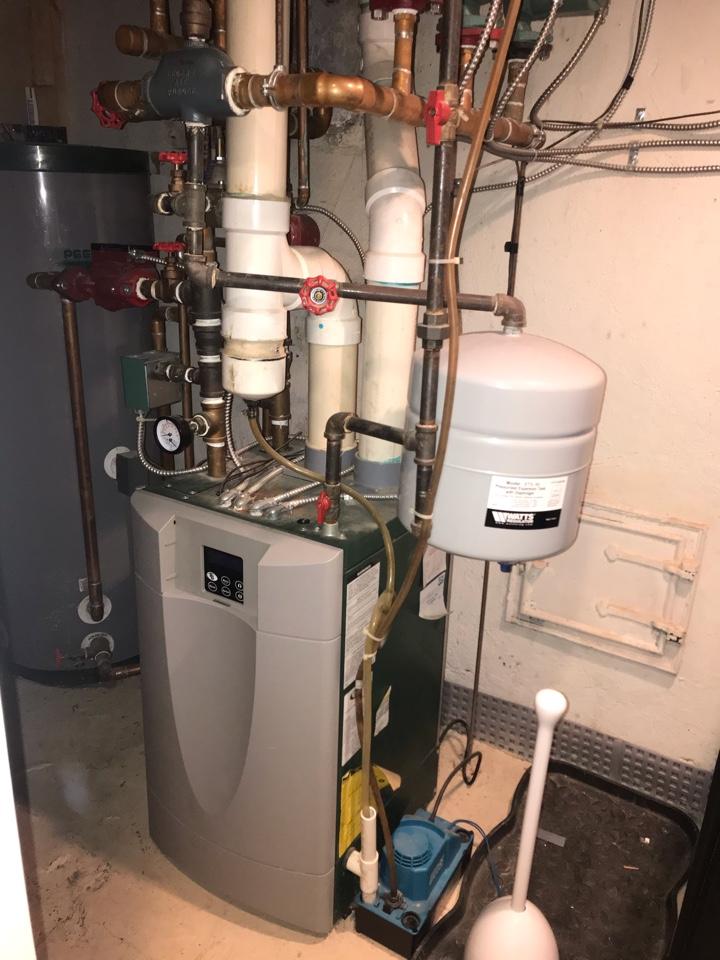 Westfield, NJ - Replacement of Peerless high efficiency gas boiler in Westfield.