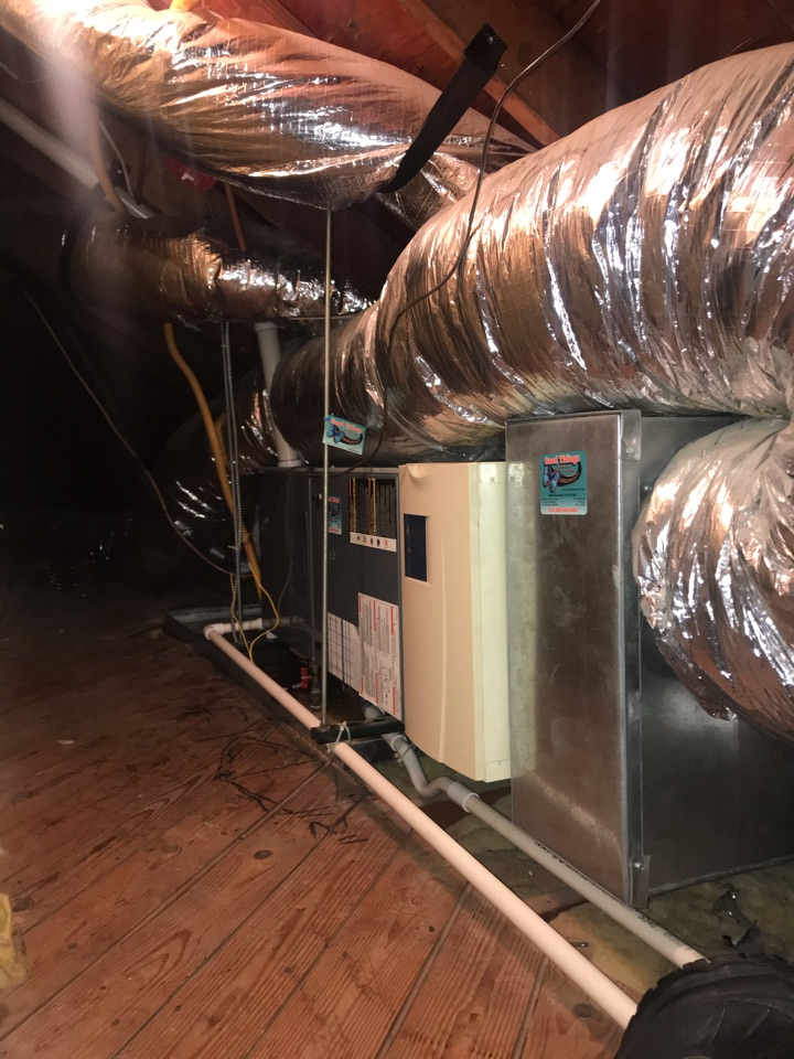 Westfield, NJ - Replacement of gas furnace and air conditioning system in Westfield.