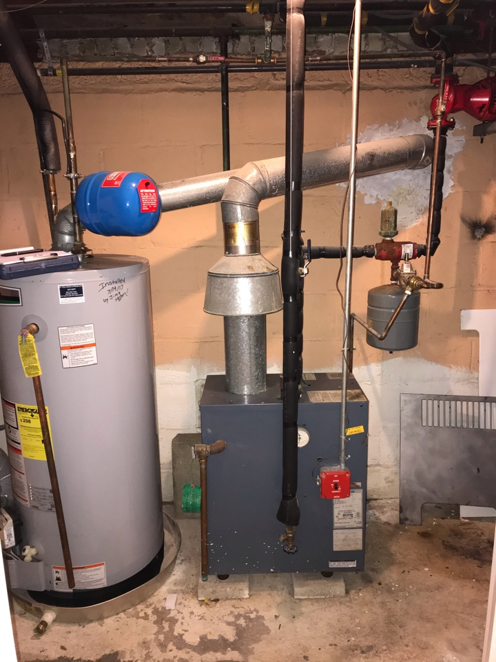 Summit, NJ - Weil McLain gas fired hot water boiler replacement in Summit.