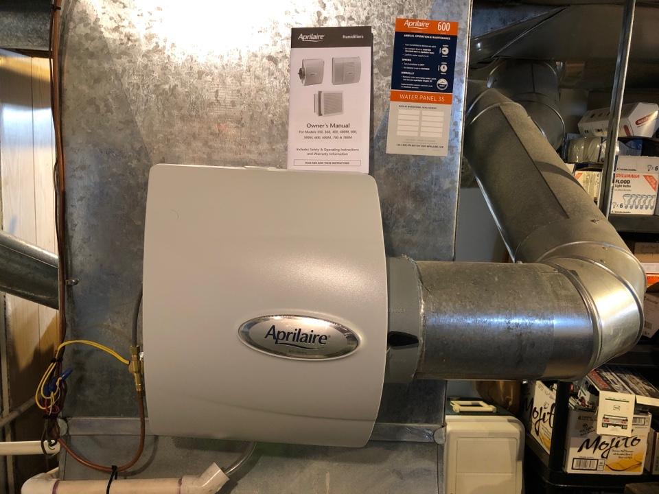 Mountainside, NJ - Humidifier installation