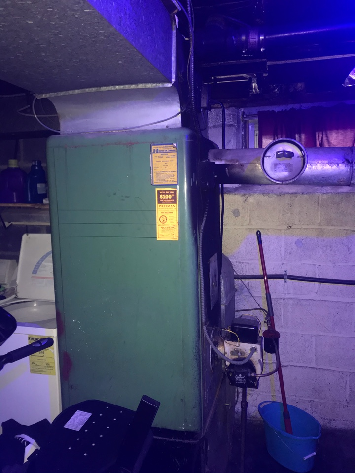 Hillside, NJ - Furnace replacement, oil to gas conversion in Hillside.