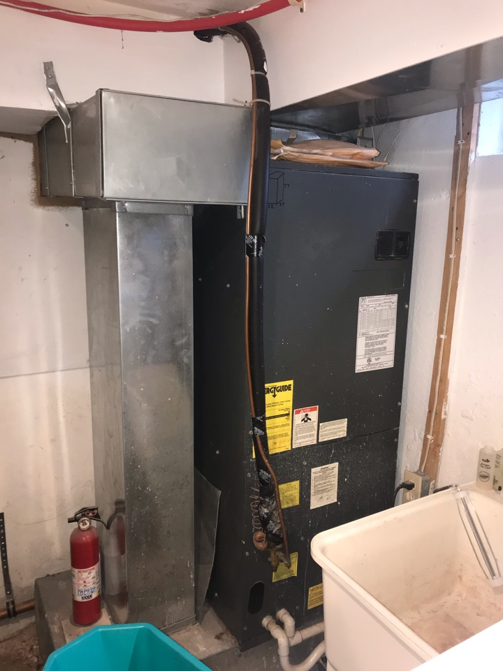 Westfield, NJ - Replacement of 2 central air conditioning systems in Westfield.