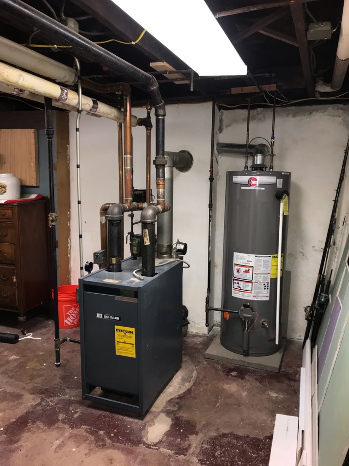 Clifton, NJ - Replacement of steam boiler in Clifton.