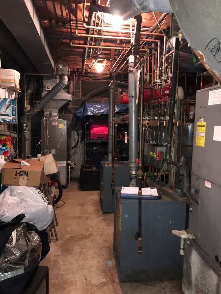 2 high efficiency boiler replacements in Livingston.
