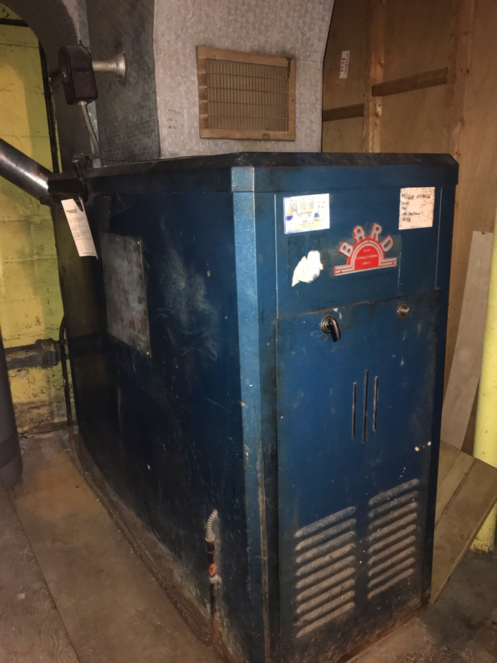 Union, NJ - Furnace replacement oil to gas conversion.