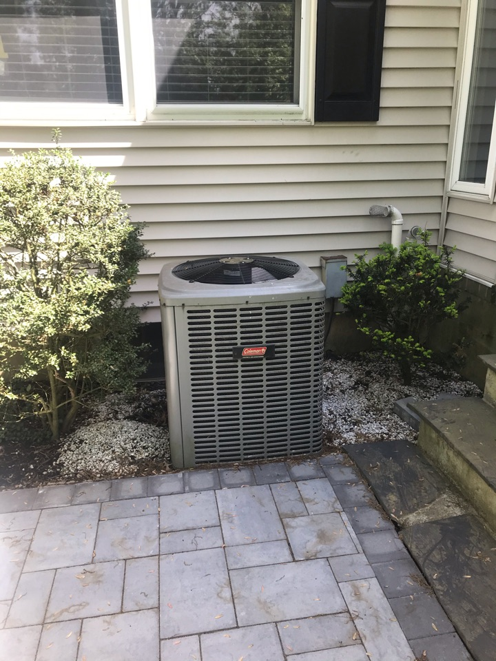 Scotch Plains, NJ - Replacement of Coleman air conditioning system in Scotch Plains.