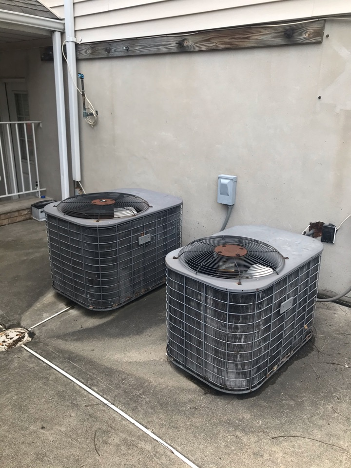Clifton, NJ - Replacement of York central air conditioning systems in Clifton.