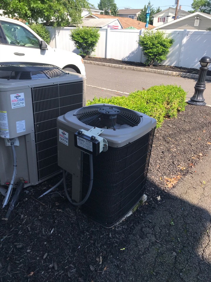 Carteret, NJ - Replacement of York central air conditioning in Carteret.