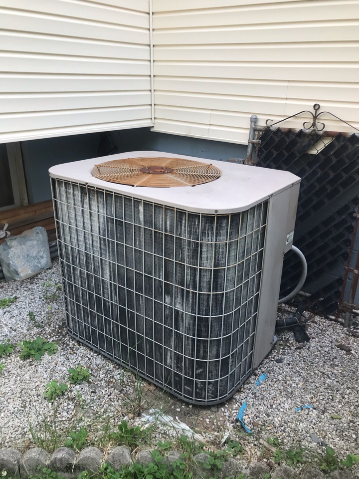 Union, NJ - Replacement of York central air conditioning system in Union.