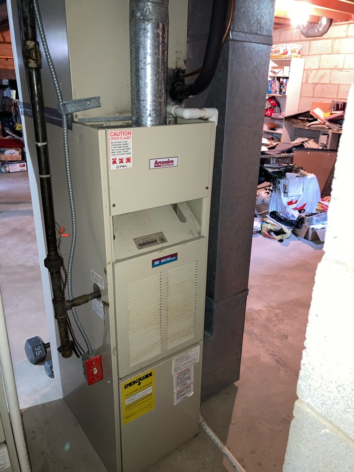 Berkeley Heights, NJ - Replacement of Snyder General gas furnace and air conditioning system in Berkeley Heights.