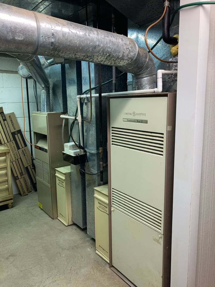 Mountainside, NJ - Replacement of GE and Trane gas furnaces and central air conditioning in Westfield.