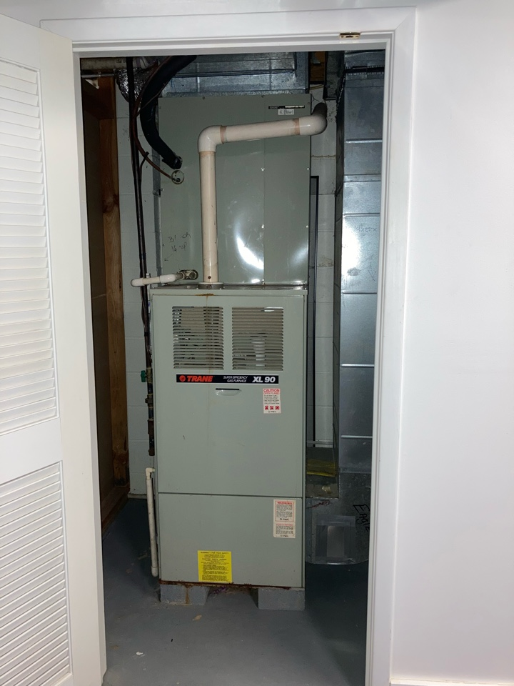 Berkeley Heights, NJ - Replacement of Trane gas furnace and air conditioning system in Berkeley Heights.