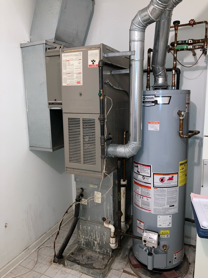 Edison, NJ - Replacement of gas furnace and air conditioning system in edison.