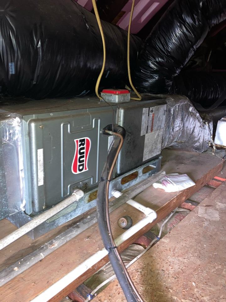 Metuchen, NJ - Replacement of Rheem central air conditioning system in Metuchen.