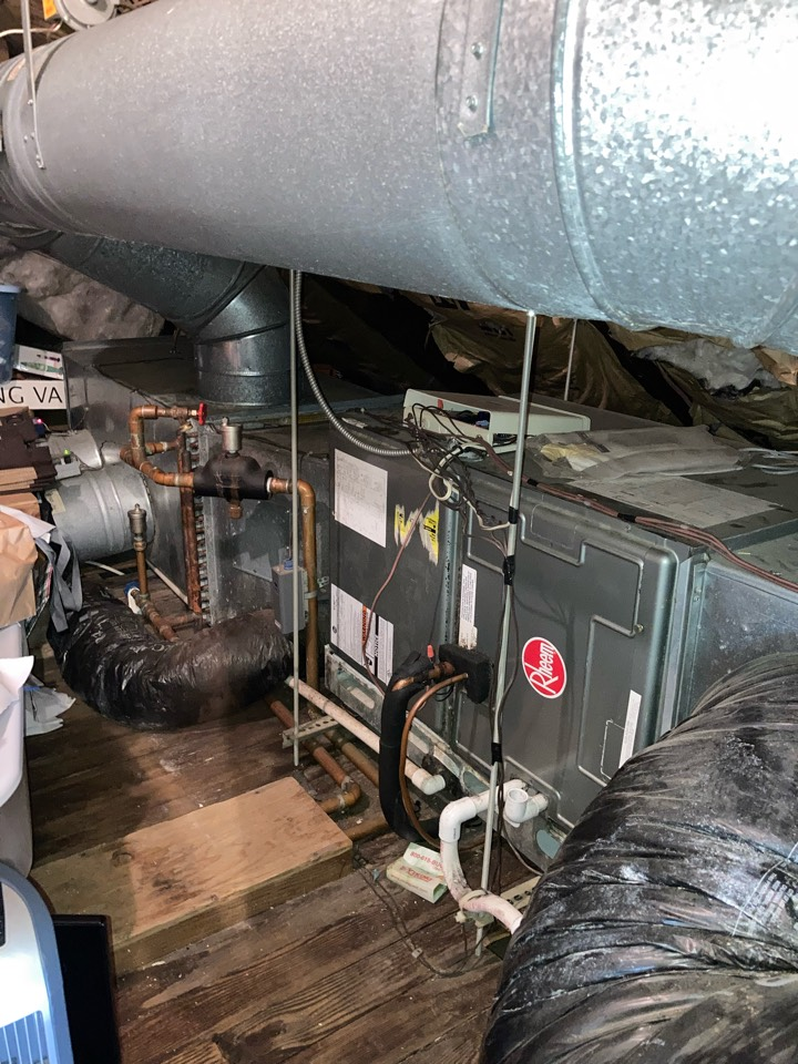 Westfield, NJ - Replacement of Rheem central air conditioning system in Westfield.