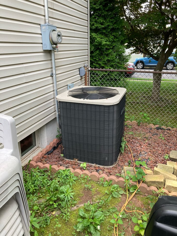 Union, NJ - Replacement of Trane gas furnace and air conditioning system in Union.