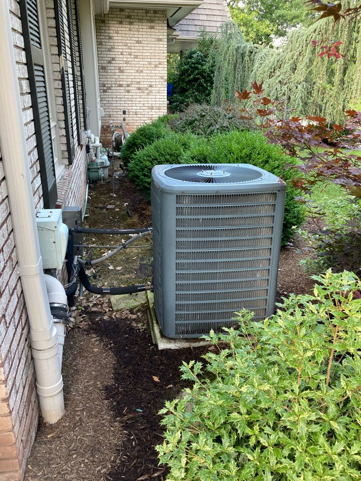 Millburn, NJ - Replacement of gas furnace and air conditioning system in Short Hills.