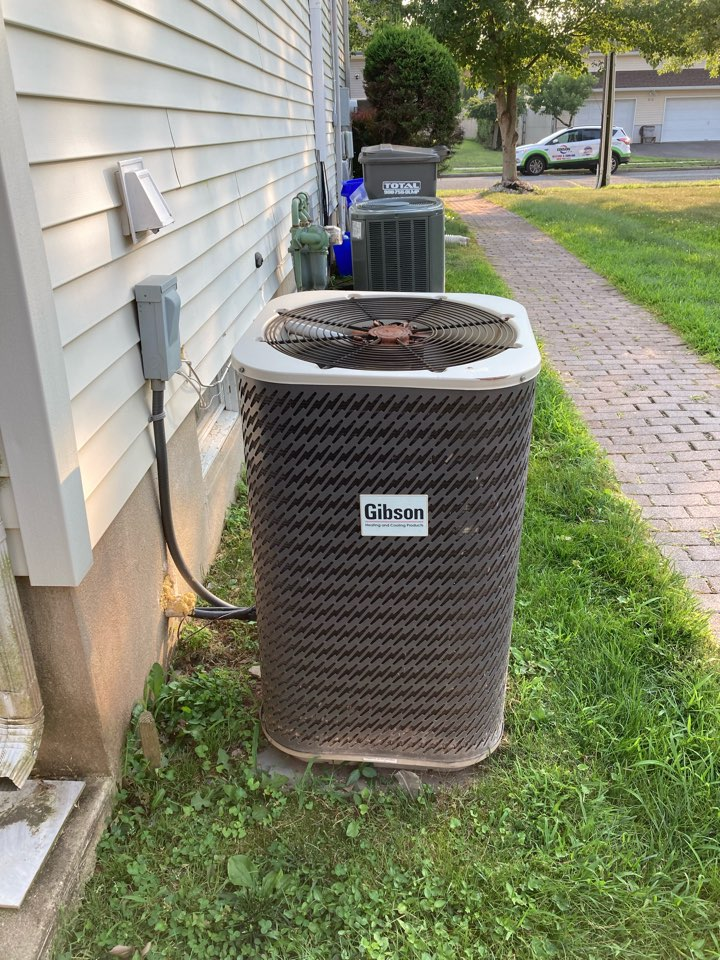 South Plainfield, NJ - Replacement of Gibson gas furnace and air conditioning system in South Plainfield.