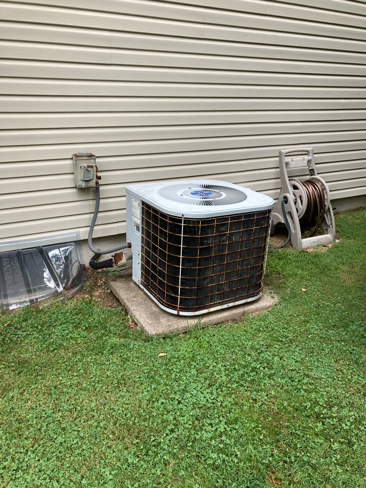 Berkeley Heights, NJ - Replacement of Kenmore gas furnace and air conditioning system in Berkeley Heights.