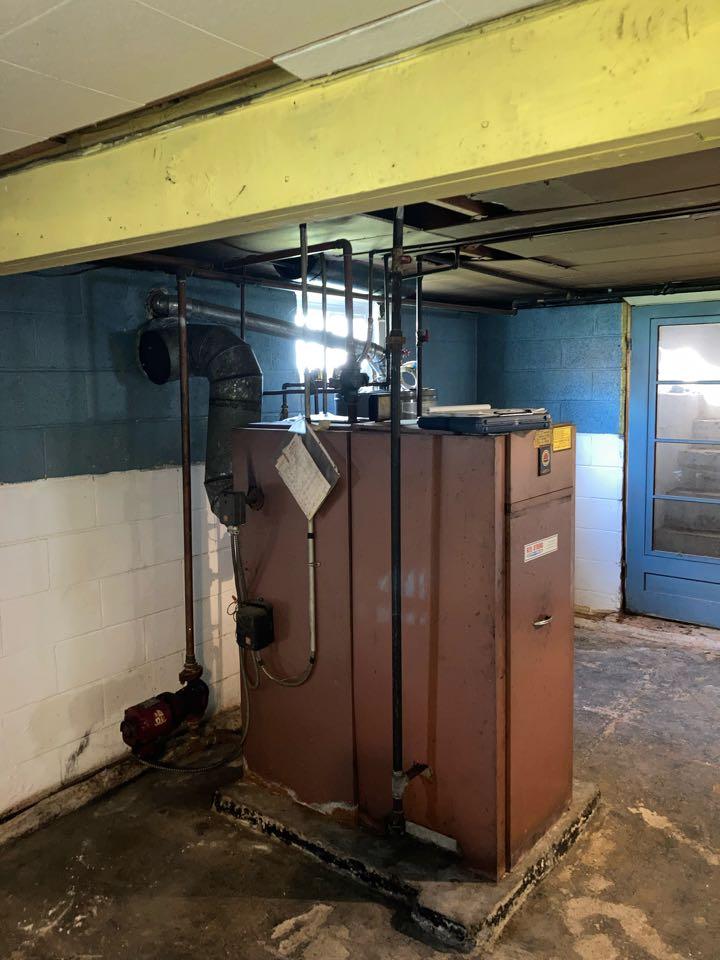 Linden, NJ - Replacement of hot water boiler in Linden.