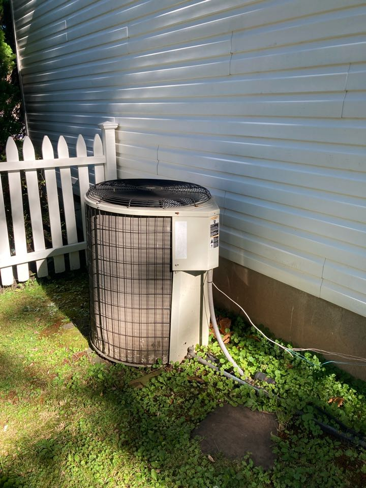 Fanwood, NJ - Replacement of Payne gas furnace and air conditioning system in Fanwood.
