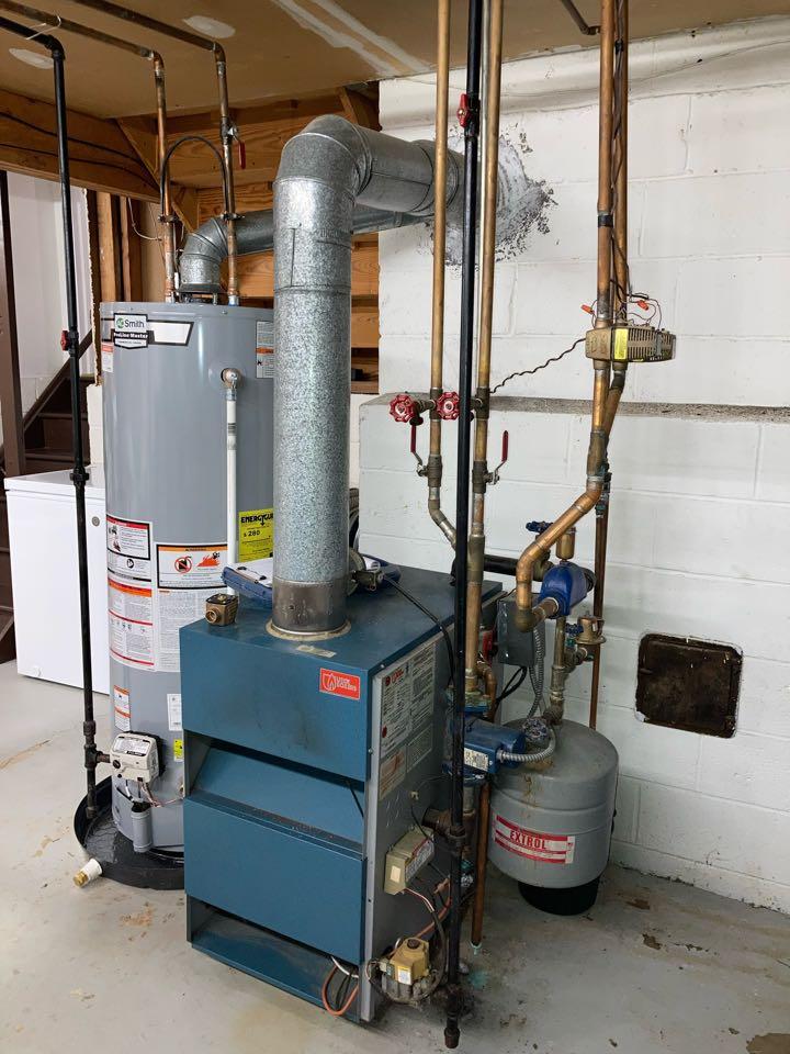 Edison, NJ - Replacement of Utica multi zone hot water boiler in Edison.