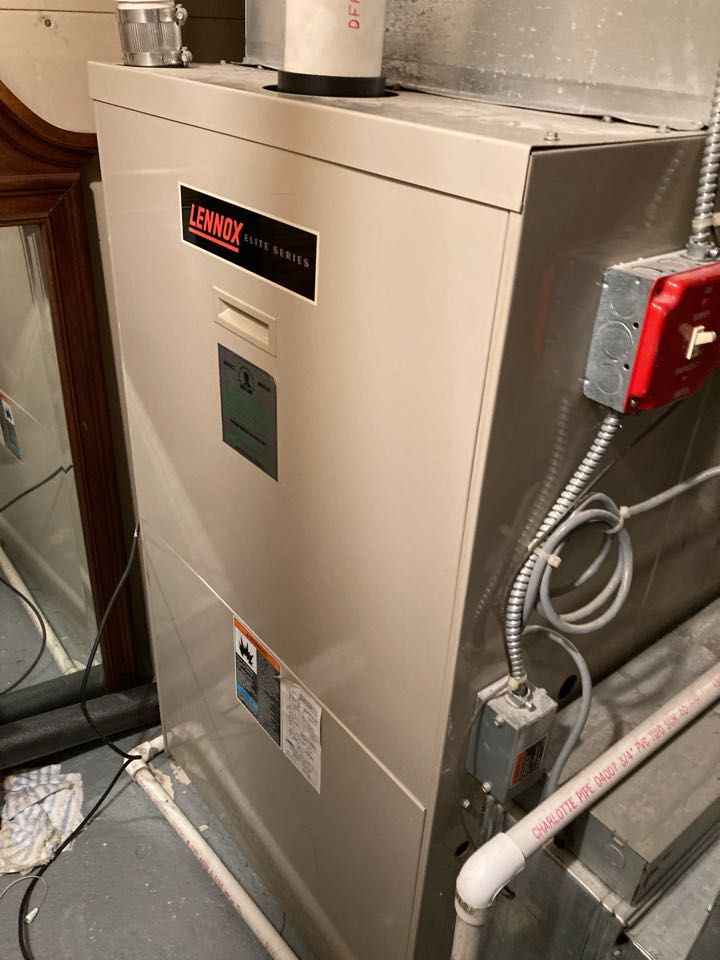Berkeley Heights, NJ - Replacement of Lennox high efficiency gas furnace and air conditioning system in Berkeley Heights.